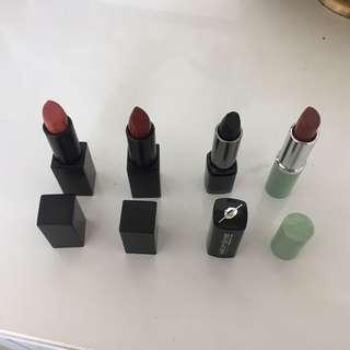 Four High-End Lipsticks