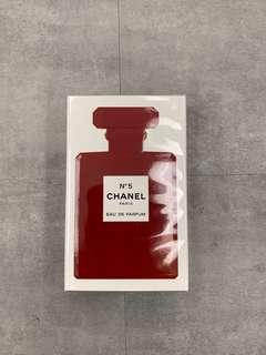 Chanel Special Edition Red No5 Perfume 限量版紅色 No 5 香水