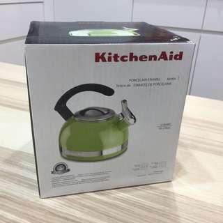 🚚 全新 Kitchen Aid C型靚麗煮水壺-萊姆綠