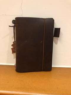🚚 Traveler's Notebook旅行者筆記本 附筆夾