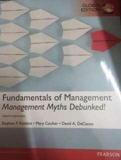 🚚 管理學 課本 Fundamentals of Management 10/e