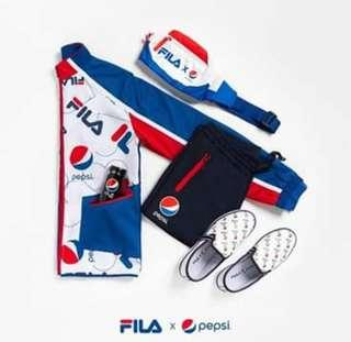 🚚 2019 1st march fila x pepsi drop fanny pack