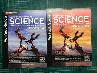 Lower Sec (NA) Science MCQ and free response Questions Set