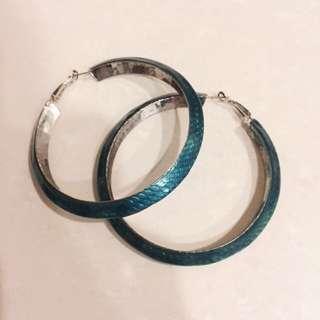 🚚 藍色海洋傳說耳環