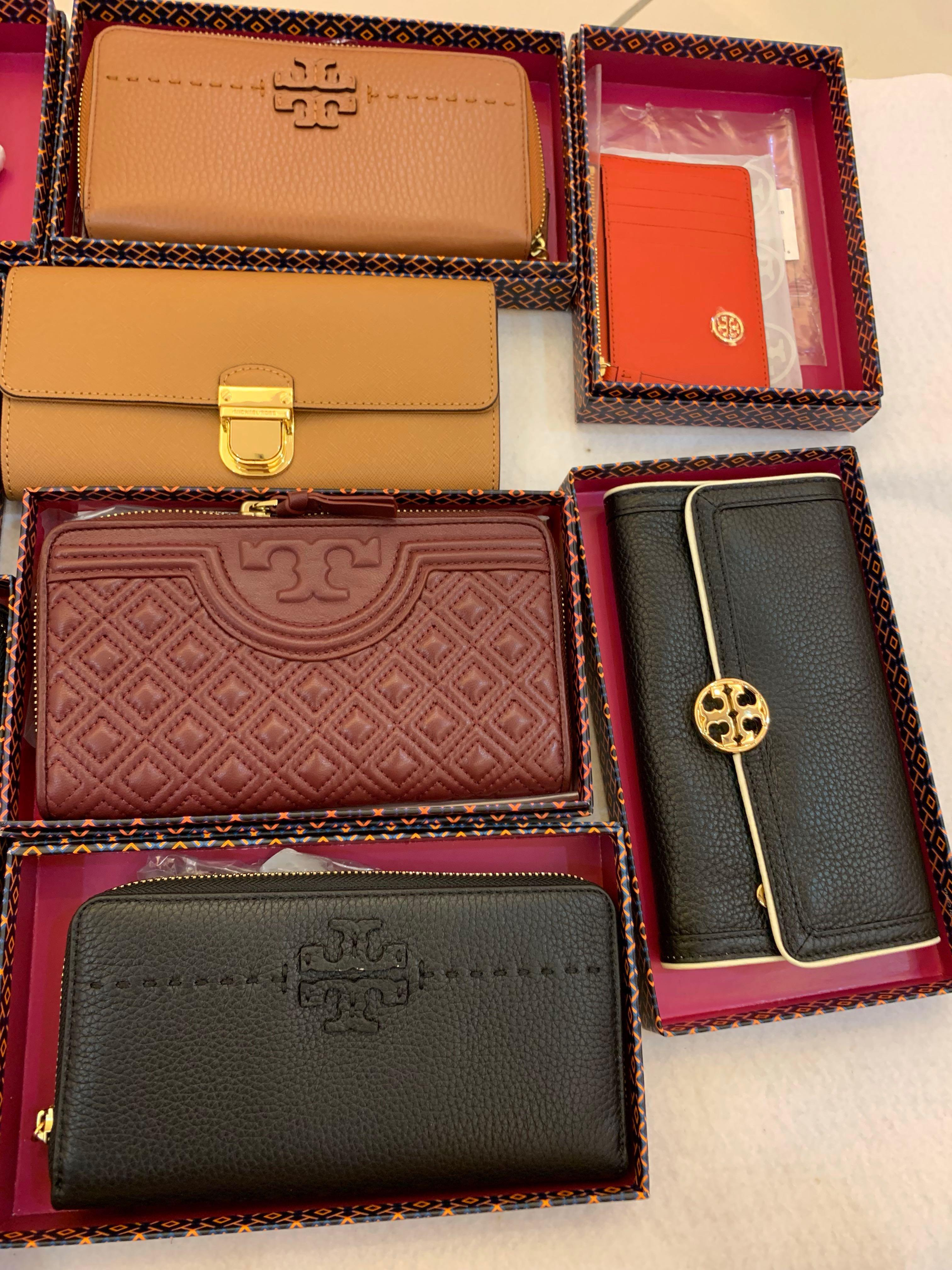 (01/03/19)Authentic Tory Burch promotion clearance ready stock mk card holder lanyard Michael kors