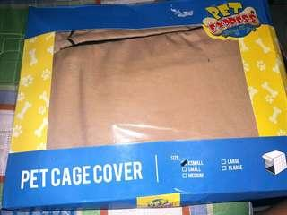 Pet cage cover
