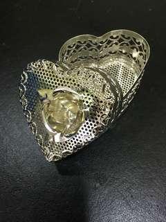 Decorative Jewelry box ( Silver )