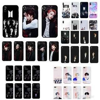 BTS Phone Case IPhone, ViVo , OPPO , Huawei, Xiaomi
