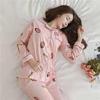 Pajamas Nightwear Long Sleeves