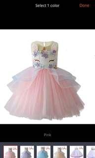 🚚 Unicorn Dress
