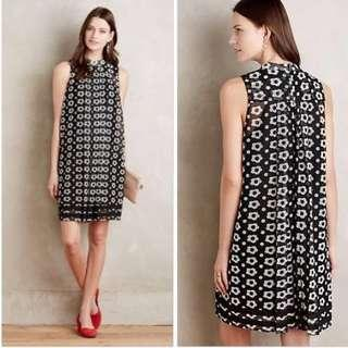 Anthropologie Marzena Swing Dress Size 0