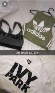 Tops $15 each