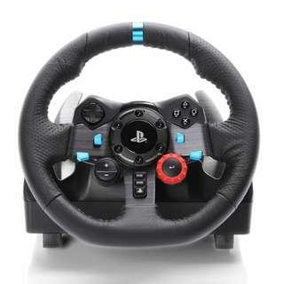 G29 Logitech wheel + pedals