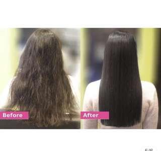 Hair rebonding straightening cream