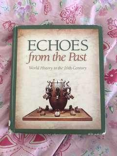 Echoes from the past
