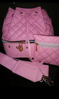 Tas Serut Pink Cantik