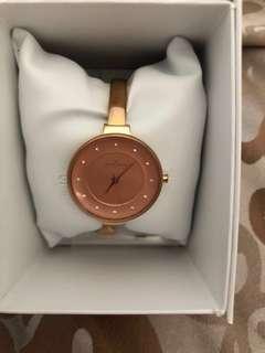 Skagen rose gold watch