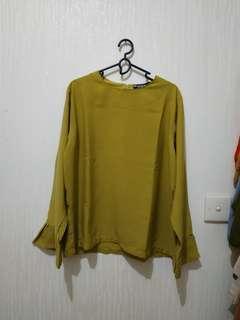Yellow green Top