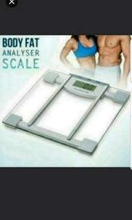 Premium Digital Weighing Scales Weighting Scale Sport Diet Personal Scales Transparent Electronic Body Trainer BMI Machines promotion price