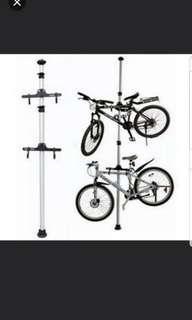 READY STOCKS!★ Dual Bicycle Space Saving Aluminium Ceiling Rack promotion  price