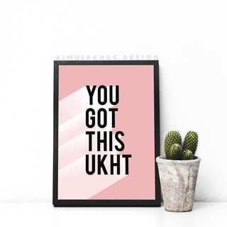 🚚 U got this ukht