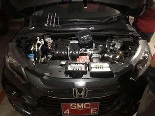 Honda Vezel with Hurricane n spark Plugs combo
