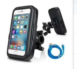 Universal mobile holder with free charging cable
