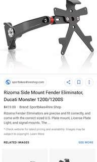 Rizoma Side Mount Fender Eliminator 1200 / 1200S