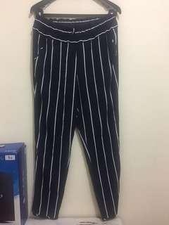 Zara Women pants with list