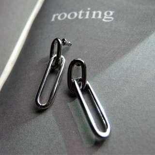 鋼針 銀耳環