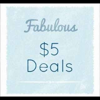 Clothing accessories for $5 or less