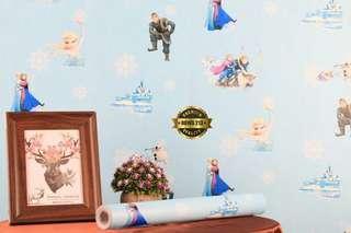Wallpaper Dinding Frozen