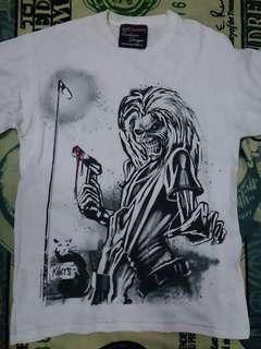 Limited reissue iron maiden tshirt