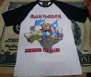 Limited reissue Iron maiden tshirt Alamo