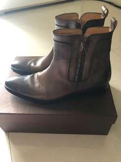 Sepatu Kulit Boot Mario Minardi
