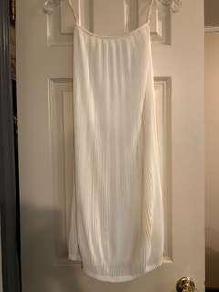 Babaton white skirt