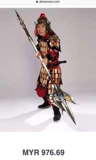 Costume China warrior