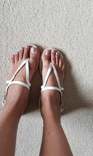 Nine West sandals size 7 great condition