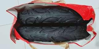 2x New CHAO YANG 12 Inch Tyre & Tube