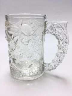 4 pcs Batman Mug Collection Batman杯 蝙蝠俠杯系列一套四件精品玻璃杯