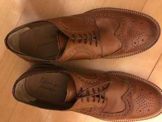 Antonio Maurizi, Brown dress shoes, barely worn, bargain