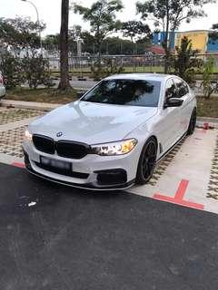 Latest BMW 530 (G30) for rent
