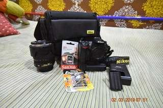 Nikon D7000 with 18-105 mm len.
