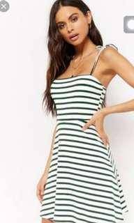 🔥F21 Stripe Dress