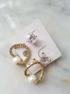 【包郵】耳環2對(earrings for 2 pairs)