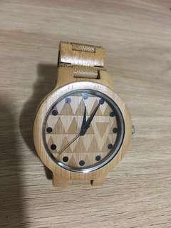 Wood made watch
