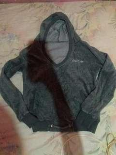 jaket wanita abu