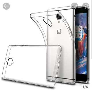 One Plus 3T Clear Phone Case