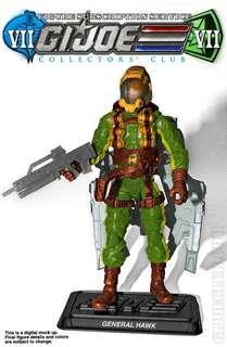 G.I. Joe General Hawk Subscription Figure 7.0