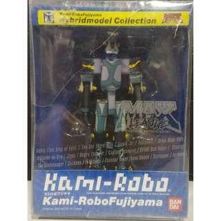 中古 已開封盒破爛 行版 BANDAI MAX 軍團 呆頭人 KAMI-ROBO FUJIYAMA